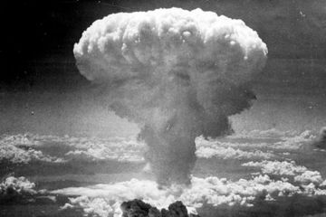 first atomic attack