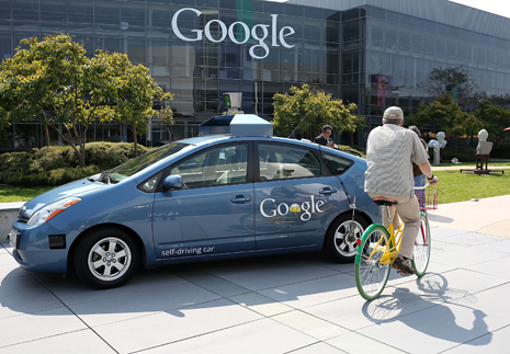 Gov. Brown Signs Legislation At Google HQ That Allows Testing Of Autonomous Vehicles
