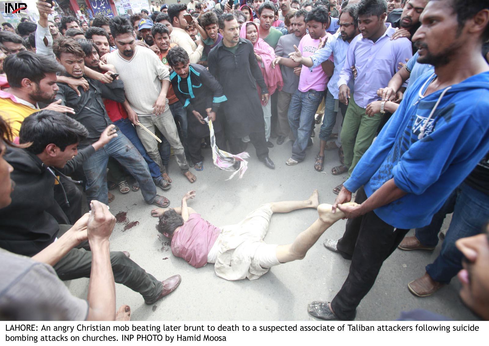 two men burnt alive in pakistan video